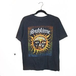 Sublime Unisex Graphic Band T Shirt